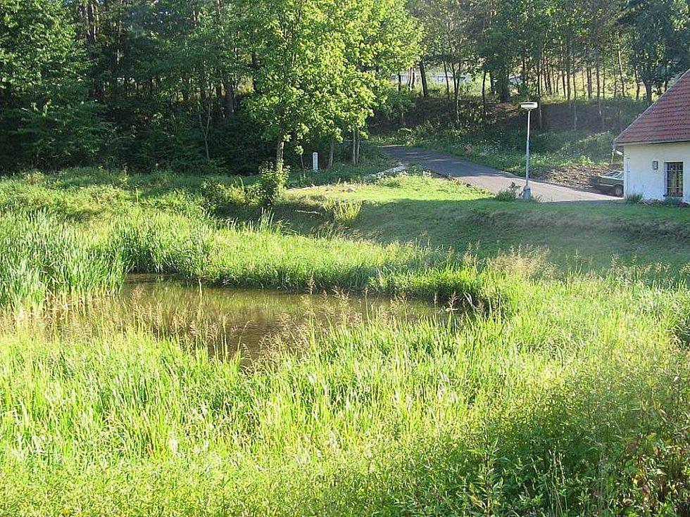 Rybník ve Skryjích by měl být odbahněn a zpevněn.