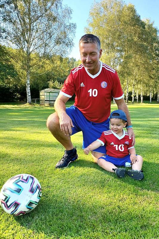 Hrdina okresu: Dušan Šnobl a syn - Sokol Pustověty
