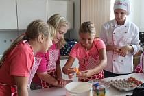 Kroužek vaření v Základní škole Lubná
