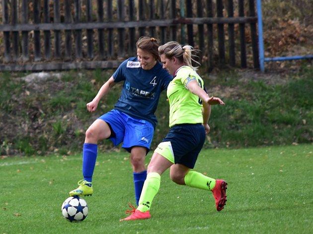 Fotbalistky FK Rakovník prohrály s Hodonínem 1:4.