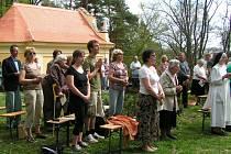 Pouť ke kapli sv. Vojtěcha v Kounově