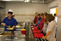 Nová kuchyně v základní škole