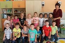 První třídu luženské základní školy vede třídní učitelka Ilona Prokšová.