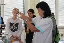 Studenti SZeŠ v Rakovníku navštívili čistírnu odpadních vod v Rakovníku