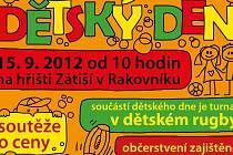 Plakát dětského dne v Rakovníku