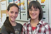 Alžběta (vlevo) a Eliška