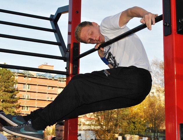 Jirka Krob chodí cvičit skoro každý den