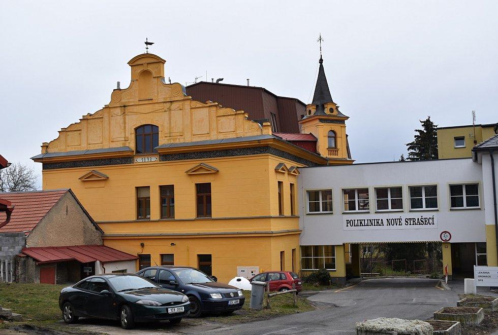 Poliklinika v Novém Strašecí.