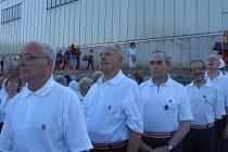 Rakovničtí sokolové - Slet pod Ještědem 2008
