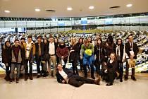Studenti ISŠ Rakovník si pobyt v belgickém Bruselu užili.