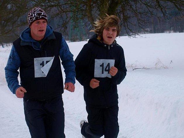 Dvojice odvážných běžců ze Třtice - Patrik a Martin Poštovi