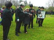 První dáma Ivana Zemanová navštívila výroční střelby Sboru rakovnických ostrostřelců v Jesenici. Autor Růžena Srpová