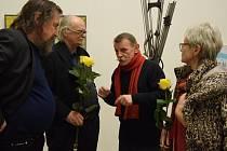 V Nové síni pod Vysokou branou se ve čtvrtek 1. února uskutečnila vernisáž výstavy Jednota umělců.