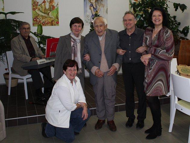 Bohumil Hodan slaví devadesáté sedmé narozeniny