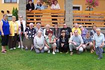 Účastníci ozdravného pobytu v Jesenici