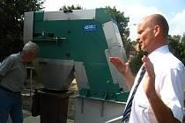 Mini kolaudace čističky odpadních vod v Kolešovicích