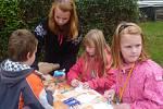 Den otevřených dveří na školní zahradě ZŠ a MŠ Jesenice