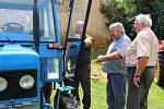 Na Hředelské traktoriádě návštěvníci obdivovali hlavně zetory