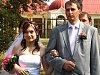 Novomanželé Bohumila a Robert Valouchovi
