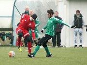 Rakovnický Tatran si v přípravném duelu poradil s Libušínem 5:0.