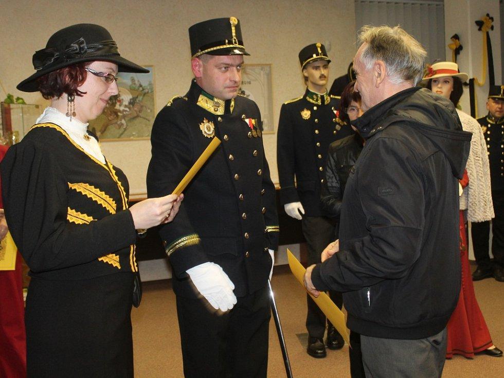 Výstava vojenských vysloužilců v rakovnickém archivu