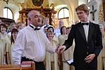 Mše svatá a koncert v Nezabudicích