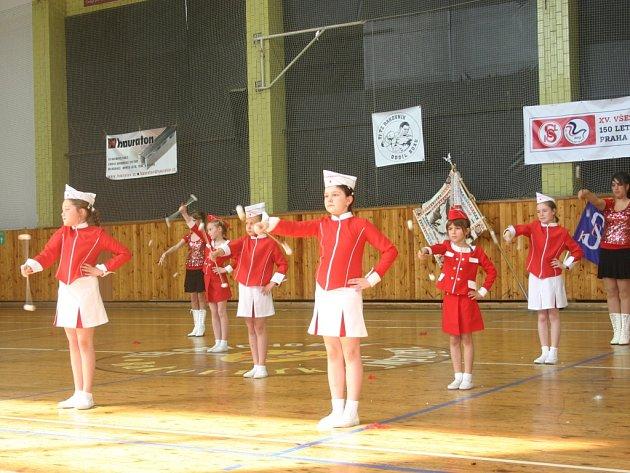 Předsletová akademie v rakovnické sportovní hale