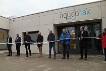 V pondělí 6. ledna byl slavnostně otevřen AquapRak.