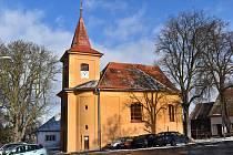 Lubenský kostel sv. Jiří.