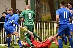Rakovnický Tatran ve 14. kole divize B nestačil na Českou Lípu, se kterou prohrál 1:2.