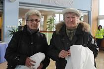 Erika Hofrichterová a Ludmila Petrboková