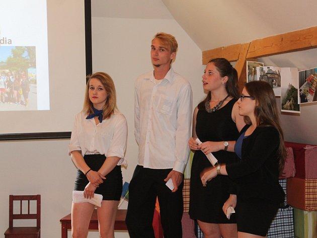 Zdravý den připravili studenti ISŠ Rakovník v roubence Lechnýřovna