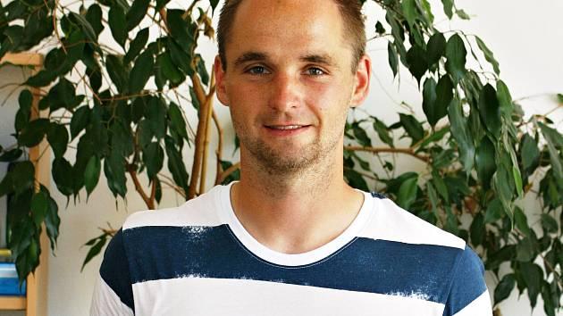Fotbalista okresu Jakub Sklenka.