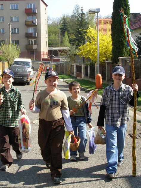 Koledníci chodili v Rakovníku po celé dopoledne.