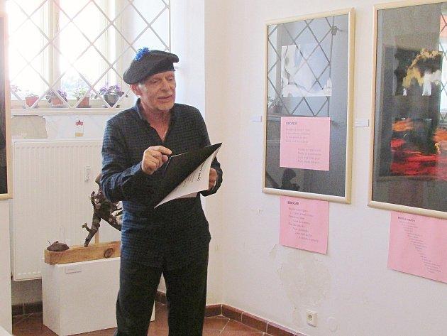 Vernisáž výstavy David Kočí - fotografie, Jaroslav Odehnal - básně.