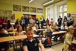 První školní den v 2. ZŠ Rakovník.