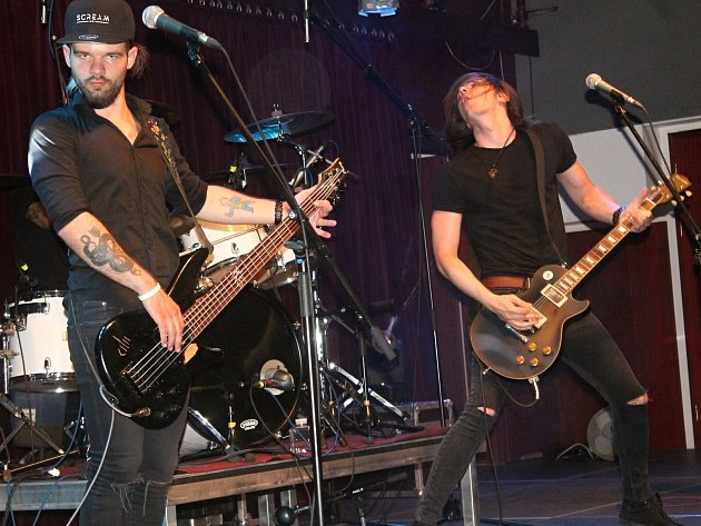 Scream Inc. - celosvětově uznávaný Metallica tribute band, vystoupil v rakovnickém kulturním centru.