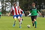 Z fotbalového utkání I.B třídy Tatran Rakovník B - Rudná (4:1)