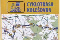 Trasa cyklostezky Kolešovka