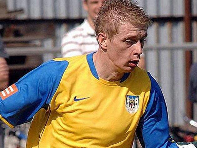 Fotbalista Jiří Razím.
