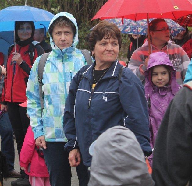 Osmnáctá Lišanská šlapka v dešti