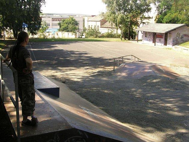 Skatebordové hřišti Na Střelnici