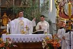 Slavnost Těla a Krve Páně  se konala v kostele Narození Panny Marie.
