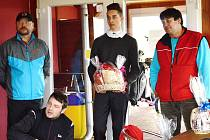 Vítěz turnaje 28.3. a autor Hole in one na jamce č. 11 Tomáš Enders