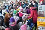 V Novém Strašecí se konal masopust už po dvacáté. Po skončení průvodu pokračoval program v Novostrašeckém kulturním centru, kde se uskutečnila i soutěž o nejlepší buchtu.