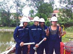 Kounovští hasiči.