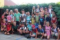 Účastníci Léta rakovnických dětí