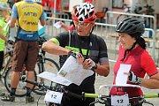Orientační závod dospělých dvojic byl druhým závodem v rámci jedenáctého ročníku Rakovnického cyklování.