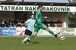 Z fotbalového utkání divize Tatran Rakovník - Chomutov (2:1)