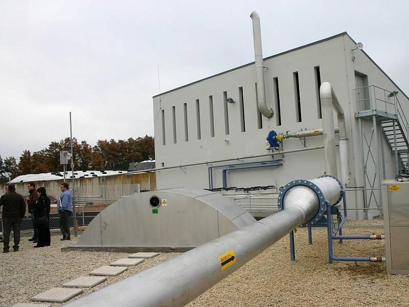 Nová biostanice v Hostokryjích